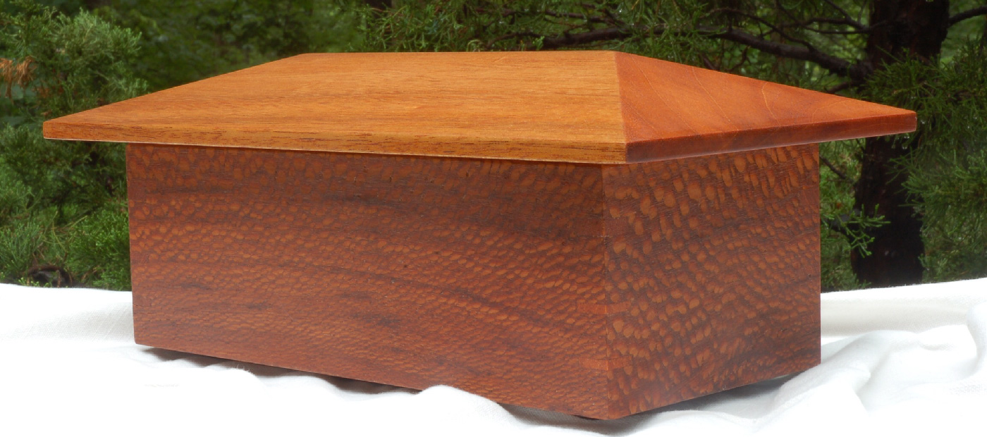 """Click On This Image To Learn More <p class=""""alignright"""">Leopard Wood & Mahogany Jewelry Box</p>"""