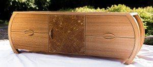 Audio Cabinet | handmade wood furniture | STUDIORossi