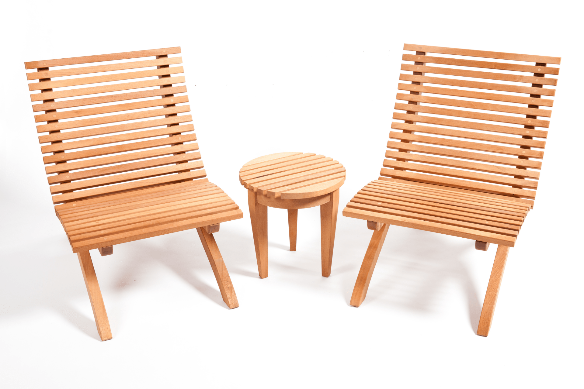 Outdoor Garden Set | Handmade Wood Furniture | STUDIORossi